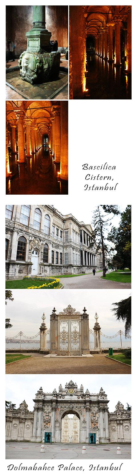 Istanbul - CisternDolmab